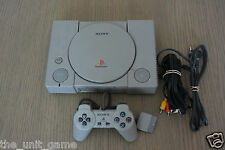 CONSOLE PLAYSTATION PS1  COMPLET A VOIR