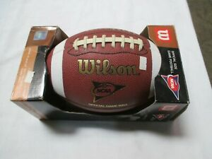 WILSON  1715 OFFICIAL SIZE   TDS PATTERN COMPOSITE FOOTBALL