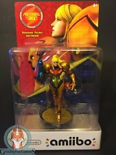 CUSTOM Metroid 30th Anniversay Samus Aran amiibo with box. See description!