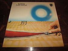 LE ORME VERITA NASCOSTE PROG 1976 LP First Pressing in Beautiful Conditions