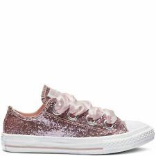 12754c020 Girls Converse Ctas Big Ojales Ox 662308C Storm Pink NEW Size 5