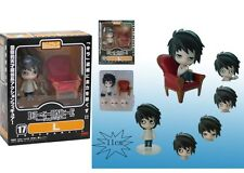 "DEATH NOTE/ FIGURA NENDOROID L LAWLIET 10 CM- ANIME FIGURE 4"" COLLECTION #17"