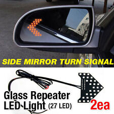 Side View Mirror Turn Signal Glass Repeater LED Module Sequential For DODGE Car
