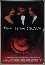 SHALLOW GRAVE DS ROLLED ORIG 1SH MOVIE POSTER EWAN MCGREGOR DANNY BOYLE (1994)