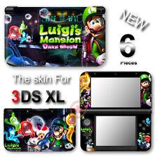 Luigi Super Mario Cute New VINYL SKIN STICKER DECAL COVER for Nintendo 3DS XL