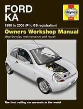 Ford Ka Repair Manual Haynes Manual  Workshop Service Manual  1996-2008  5567