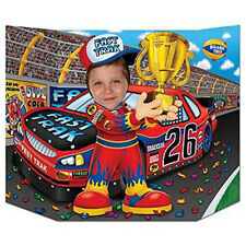 Party Supplies Birthday Decorations Boys Race Car Driver  Photo Prop
