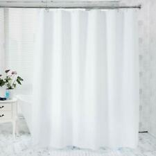 Amazer 72in W X 72in H Eva 8G Shower Curtain With Heavy Duty Clear Stones 12 G