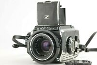 【Near MINT】Zenza Bronica S2 Medium Format w/ Nikkor-P 75mm f/2.8 Lens From JAPAN