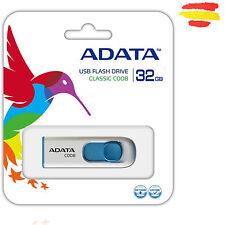 PENDRIVE 32GB ADATA BIANCO MEMORIA USB 2.0 32 GB PENNA DRIVE ORIGINAL RAPIDO