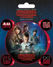 Aufkleber Sticker Stranger Things Film Serien Science Fiction Mysterie