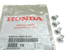 4 x Genuine OEM Honda Acura Disc Brake Retaining Rotor Screws