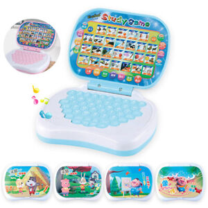 Kids Toddler Laptop Learning Study Toy Baby Educational Game Develop Skill Toy