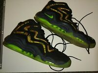 Men's Nike Hightops Pippen Camouflage Neon Green Size 13 325001-002