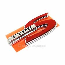 OEM Honda Rear TYPE S Emblem Badge For Acura CL RSX TL 75731S3MA10 Genuine