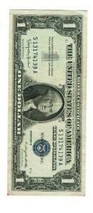 1935 A $1 Silver Certificate CH CU s/n T70973317C