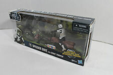 Star Wars Speeder Bike with Scout Trooper Toys R US Exclusive New, Sealed