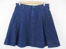 G.Star Raw.Denim. Nwot. Indigo skirt.Flared panel.Front pockets.See sizes.