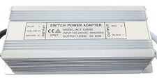 elektronische LED Trafo Netzteil 1-60W 160-250V 2 x 12V wasserfest  5.0 A IP67