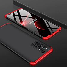 Cover For Xiaomi Redmi Note 10 / Pro Case Front Retro 360+ Tempered Glass