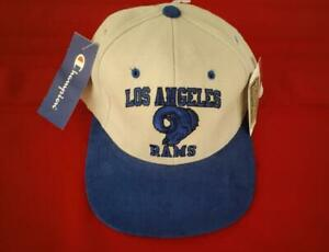 NEW Old Stock Los Angeles Rams Champion NFL Vintage Collection Throwbacks SB Hat