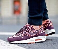 Nike Air Max 1  Liberty Prints QS Deep Burgundy Shoe size 8 540855-600