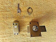 Serrure de porte d'entrée/verrou FTH avec clé-2 points et butée