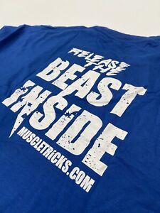 Men's Gym T-shirt | Release The Beast | Bodybuilding Top Tshirt Best Stringer