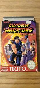 ★ Nintendo NES Shadow Warriors Ninja Gaiden  ★ PAL B España. COMPLETO.