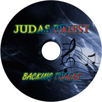 JUDAS PRIEST GUITAR BACKING TRACKS CD BEST OF GREATEST HITS MUSIC PLAY ALONG MP