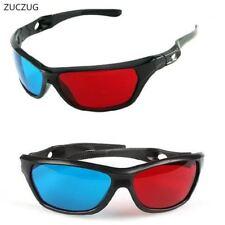 Cadre noir universel 3D verres en plastique/Oculos/Rouge Bleu Cyan Verre 3D anaglyphe