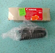 Canon Connecting Cord 60  Coiled Flash Cord	NOS NIB