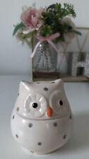 Small Owl Ceramic Trinket Dish