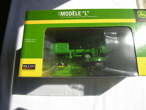 """SpecCast # JDM 239  Model """" L"""" Unstyled Tractor With L-1 Integral Plow"""