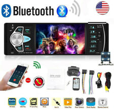 4.1'' Car Stereo FM Radio BT USB AUX MP5 MP3 Car Player Single with Camera 1DIN