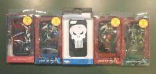 5 lot of Marvel Cases for iPhone 5 Hulk Thor Spider-Man Captain America Punisher