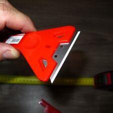 236: 12 Stück Glasschaber 145 mm im Karton mit Trapezklinge Kunstoffkörper NEU