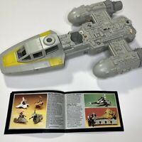 Vintage Star Wars Return of the Jedi Y-Wing Fighter Spaceship 1983 Kenner Rare