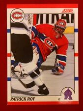 1990-91 SCORE PROMOS #10 PATRICK ROY/ (KICK SAVE PHOTO ON FRONT)