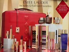 Estée Lauder 12 Full Size Favorites $455 Value Case Favorites Skin Care & Makeup