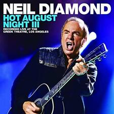 NEIL DIAMOND CD - HOT AUGUST NIGHT III [2 DISCS](2018) - NEW UNOPENED - ROCK