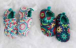 CHOOZE Adorable Mismatched Unisex STAY PUT Baby Booties Size 6M to 24M
