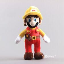 Super Mario Odyssey Firefighter Mario Plush Figure Doll Stuffed Toy 11'' Fireman