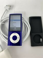Apple iPod Nano 5th Generation Blue 8GB **WORKS GREAT GOOD BATTERY** Model A1320