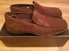 NIB Men's Dr. Scholl's Studio Series Dark Brown Leather Loafer Size 9M