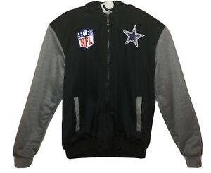 NFL Dallas Cowboys Acrylic Lined Nylon Women's XL Varsity Jacket
