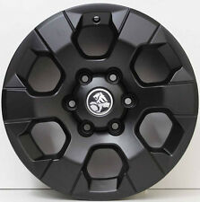 17 inch Genuine HOLDEN COLORADO 2015 MODEL LTZ ALLOY WHEELS IN CUSTOM BLACK