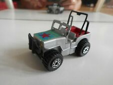 Matchbox Connectables Jeep in Grey