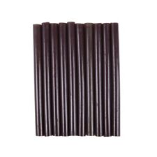 10pcs 100mm x 7mm Adhesive Hot Melt Glue Sticks For Hot Melt Glue Gun Brown L5C4