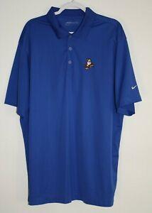 Nike Golf Snow White Walt Disney World Grumpy Dwarf Size XXL Dri-Fit Blue Nice
